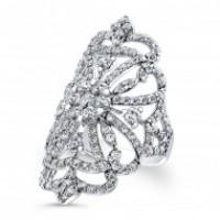 Diamond Crest Ring