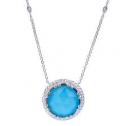 Sterling_Silver_with_Rock_Crystal_Turquoise_and_White_Sapphire_Pendant_2